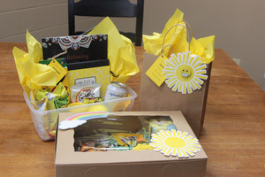 CHS Counselors are Brightening Days with Sunshine Boxes